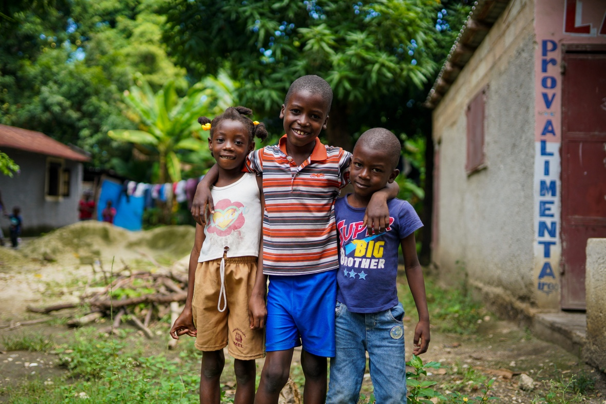 3 Haitian Kids Cafe