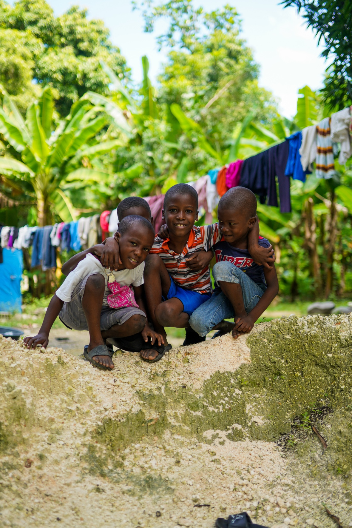 4 Haitain Boys Group Photo 2