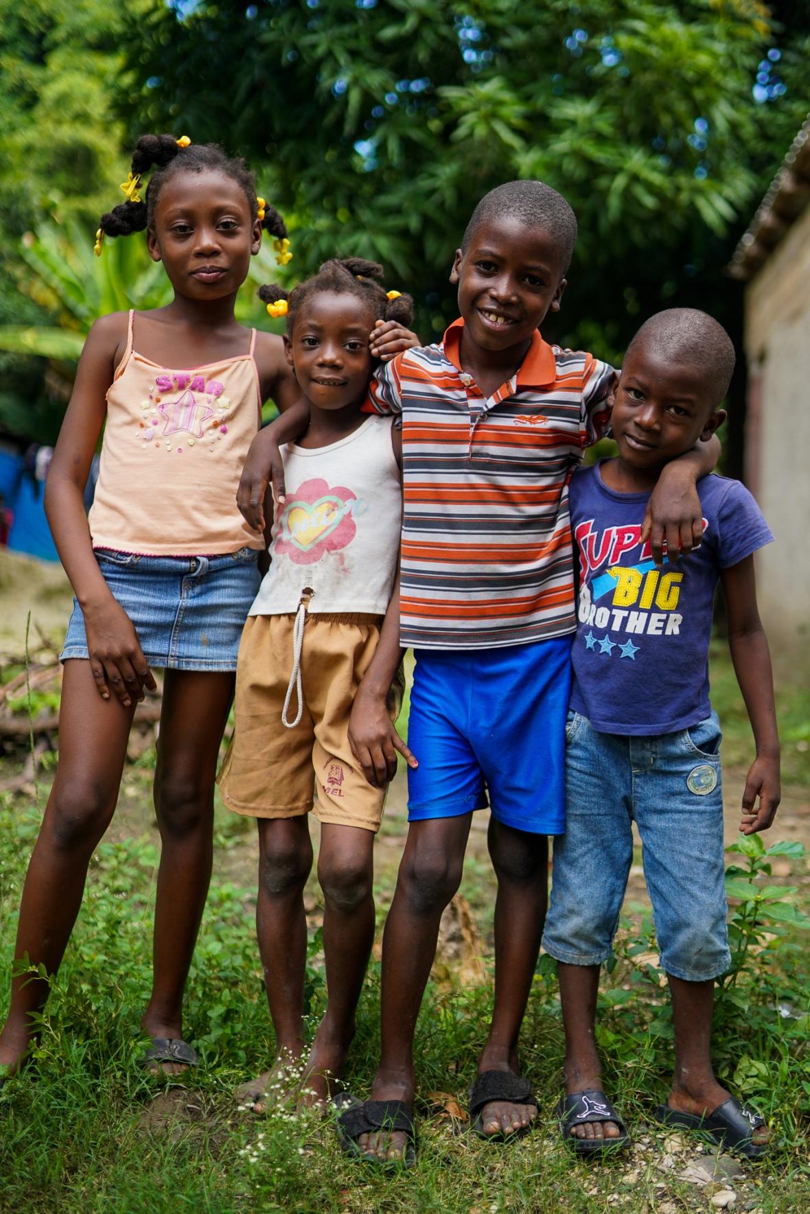 4 Haitian Kids Cafe
