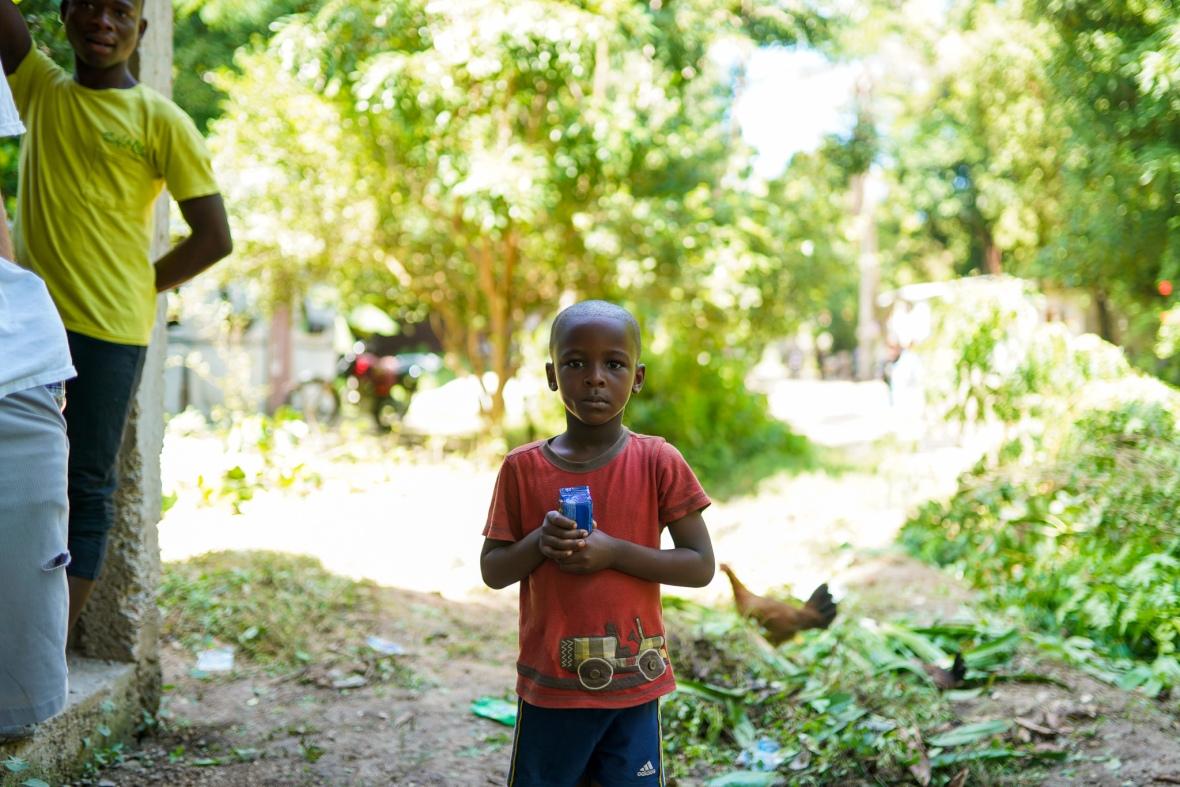 Haitain Boy Mid Shot