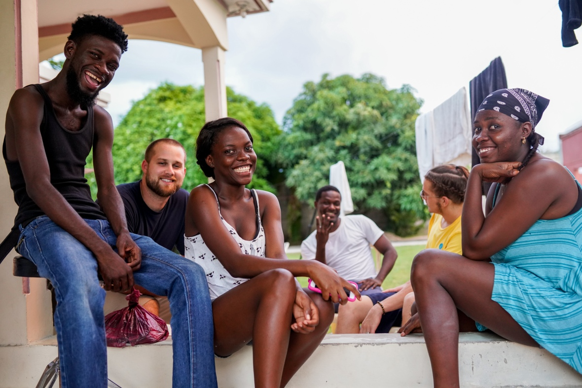 Haitian Family At Home 2
