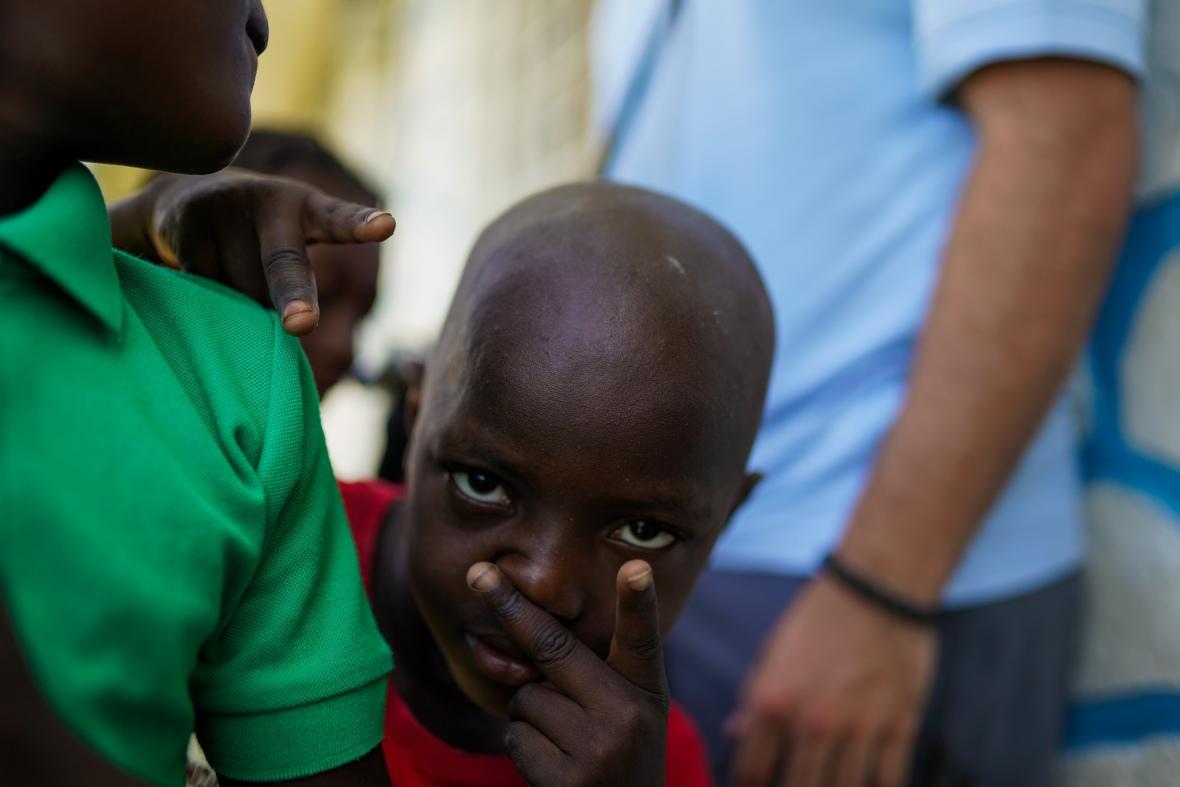 Orphan Boy Eyes