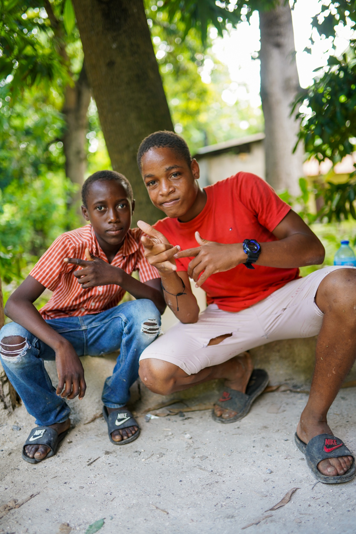 Young Haitians